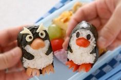 Seriously Sweet Sushi makes me think of Scott & Carla Cute Food, Good Food, Yummy Food, Creative Cakes, Creative Food, Creative Ideas, Sushi For Kids, Sweet Sushi, Food Carving