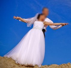Najpiękniejsza sukienka ślubna - wiadomo dlaczego ;)