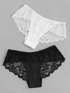 Women Briefs Panty Expensive Underwear Lace Underwire Bodysuit Matching Underwear For Couples Lingerie Set, Women Lingerie, Lingerie Models, Tattoo Dentelle, Women's Briefs, Diy Couture, Culottes, Floral Lace, Loungewear