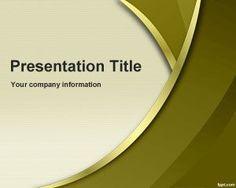 Plantilla PowerPoint Dorada es un diseño de fondo de diapositivas PowerPoint para descargar gratis para presentaciones modernas pero que necesiten un toque dorado