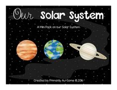"""""""Our Solar System"""" (Designed with Spec.Ed Extended Standards) 