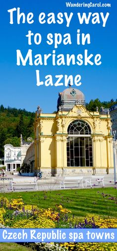 The Czech Republic is known for its beautiful spa towns in the region of Bohemia. Marianske Lazne, or Marienbad, is one of the most beautiful. If you want to   sample the wonderful world of European spa culture, here is the easy way to spa in Marianske Lazne, with a spa package at the Nove Lazne Hotel.