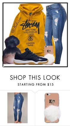 """""""Read the description please😊"""" by kikixxo ❤ liked on Polyvore featuring Stussy and NIKE"""