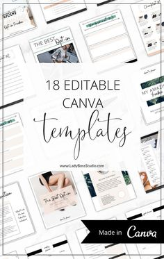 These Fresh Lead Magnet and Opt-in Freebie Canva Templates are the best to create beautiful Lead Magnets over and over! Impress your audience with a Lead Magnet they will love and watch your web traffic rise! Grow your email list on auto-pilot! Completely and easily editable to match your unique brand. #OptinFreebies #LeadMagnet #CanvaTemplates #OnlineBusiness #canva