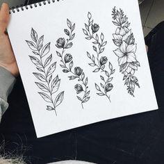 "Gefällt 1,578 Mal, 2 Kommentare - Tattoo Studio (@pakhanoff.tattooart) auf Instagram: ""Новые веточки от начинающего мастера @yu.tattooo  Бронь эскиза/запись на сеанс  директ или…"""