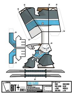 """From ITP Studios, we bring you the second character to be released in BIT+ Series 5, """"Indy Legends"""", Usagi Yojimbo!! Check out for more information regards the BIT+ Paper Toy Series."""
