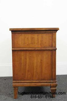 6280 Vintage Drexel Quot Triune Quot Collection 3 Drawer Chest Or
