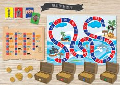 Kindergarten Teachers, Game Design, Game Art, Board Games, Kids Rugs, Graphic Design, Ikea, Play, Pirates