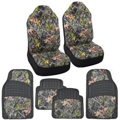 Hawg Camo Huntsman Seat Covers & Heavy Duty Rubber Floor Mats Straight Camouflage for Truck SUV Auto Truck Seat Covers, Car Covers, Camo Car Accessories, Rubber Floor Mats, Camouflage, Buy And Sell, Ninja, Ebay, Military Camouflage