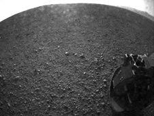 NASA Hi resolution photo of Mars from lander. August 2012