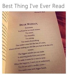 ALL women need to read this and remember the words Great Quotes, Quotes To Live By, Me Quotes, Motivational Quotes, Inspirational Quotes, Qoutes, Funny Quotes, Woman Quotes, E Mc2