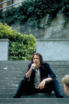 Heath Ledger - 10 Things I Hate About You... one of my favorite scenes!