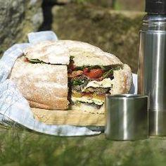 Smoked Antipasto Picnic Bread Recipe on Yummly
