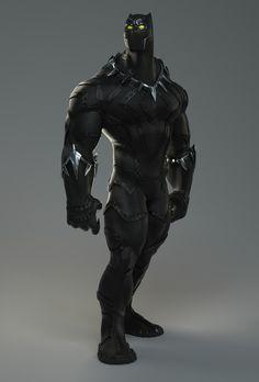 Black Panther  Created by Yado de Amorim
