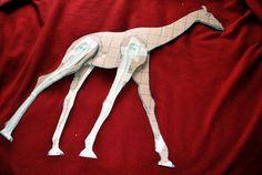 How to Make a Paper Mache Giraffe, Step One