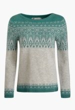 Trellis Jumper | Lambswool Fair Isle jumper | Seasalt