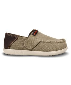 Take a look at the Khaki & Stucco Santa Cruz Canvas Loafer on #zulily today!
