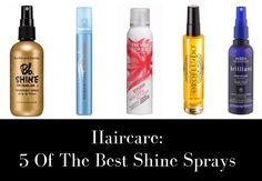 Give your locks a little extra shine!! #groomedandglossy #hair #beauty #shine #haircare http://www.groomedandglossy.com/haircare-5-of-the-best-shine-sprays/