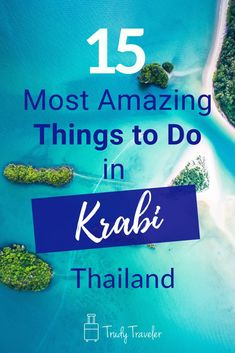 The beautiful beaches, sparkling turquoise water, sheer limestone cliffs, and iconic long-tail boats will draw you to Krabi, Check out these 15 things to do in in the stunning southern region of Thailand. Ao Nang Thailand, Ao Nang Krabi, Krabi Thailand, Thailand Travel Guide, Asia Travel, Chiang Mai, Bangkok, Beach Trip, Beach Vacations