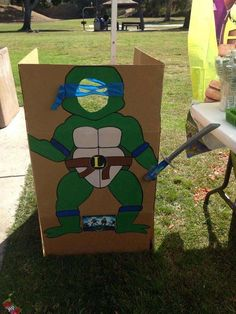 Teenage Mutant Ninja Turtles Birthday Party Ideas | Photo 5 of 7 | Catch My Party