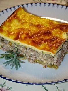 Romanian Food, Romanian Recipes, Zucchini, Dukan Diet, Cooking Recipes, Healthy Recipes, Lasagna, Food And Drink, Ethnic Recipes
