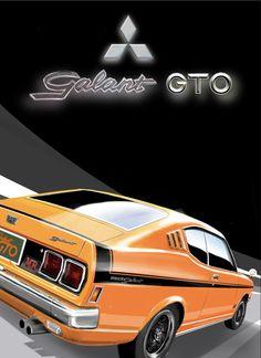 Classic Japanese Cars, Mitsubishi Galant, Car Illustration, Ipad, Memories, Drawing, Vehicles, Autos, Memoirs
