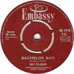 Bachelor Boy - Ray Pilgrim (WB542) Dec '62
