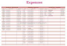 Organize Small Business Taxes {plus free printables} - Christinas Adventures