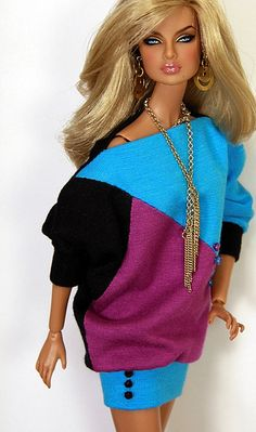 "sweater dress ""Magnetic"" 