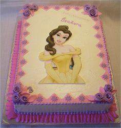 Princess Belle cake by cakespace - Beth (Chantilly Cake Designs), via Flickr