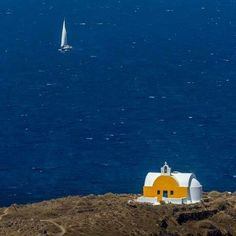 Chapel by the sea ~ Greece