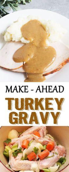 Make-Ahead Turkey Gravy : cocoandash
