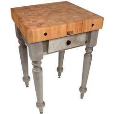 "30"" W Cucina Rustica Work Table by John Boos"