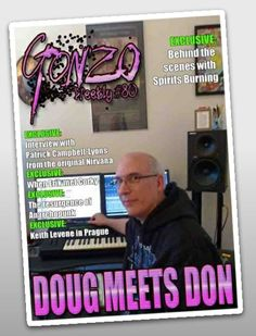 GONZO WEEKLY #80 goes to the Falcone recording lair where Doug meets Don!                        http://www.gonzoweekly.com/pdf/Gonzo%2080.pdf