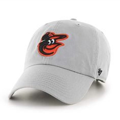 newest e8558 3a624 Baltimore Orioles 47 Brand Storm Gray Clean Up Adjustable Hat
