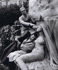 robert-doisneau-Maurice Baquet, Chopin and his Muse, circa 1950