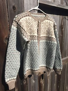 Ravelry: Tantekofta pattern by Randi K Design Baby One More Time, Cascade Yarn, Needles Sizes, Ravelry, Indigo, Men Sweater, Beige, Wool, Stitch
