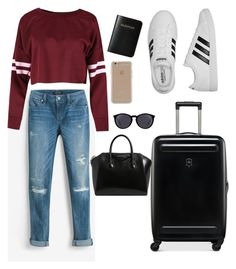 """""""sonbahar"""" by sulifes on Polyvore featuring moda, White House Black Market, adidas, Victorinox Swiss Army, Givenchy, Vera Bradley, Yves Saint Laurent ve Agent 18"""