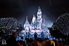 "Disneyland Castle ""sugared up"" - breathtaking!"
