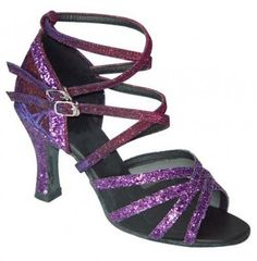 "16612 Brown  Satin Ballroom Salsa Latin Dance Shoes heel 2.5/"" Sz 7"