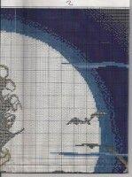 ru / monfran - The album Fantasy Cross Stitch, Stitch 2, Cross Stitch Patterns, Needlework, Album, Arts And Crafts, Bruges, Punto De Cruz, Cat