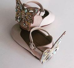 Lets fly with swarovski butterfly wings! Swarovski Butterfly, Butterfly Wings, Designer Shoes, Baby Shoes, Sandals, Winter, Clothes, Collection, Instagram