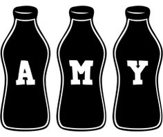 Amy bottle logo