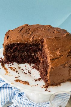 Duke's Chocolate Mayonnaise Cake -so moist!