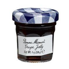 Bonne Maman French Grape Jelly Mini Jars - 1 oz x 15 pcs. Caviar Line