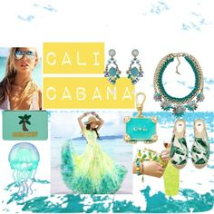 Cali Cabana by zahra-jangbar on Polyvore featuring H&M, Emma Lomax and Chloe + Isabel