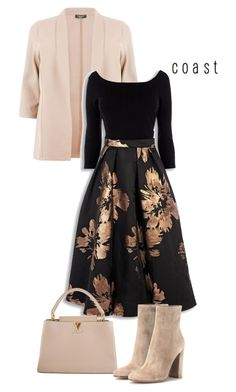 """FloralDream"" by kicsijahmeky ❤ liked on Polyvore featuring Louis Vuitton, Gianvito Rossi, louisvuitton and chloe"