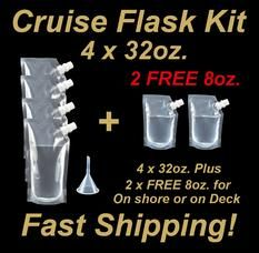 WANT TO SAVE TONS OF MONEY ON YOUR NEXT CRUISE? Do it the smart way, take your own drinks onto a cruise! GREAT gift idea. Repin if you think cruise lines charge too much for drinks!