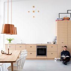 Kjøkkeninspirasjon - Moderne kjøkken i eik – Magnum