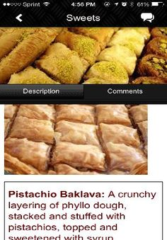 We offer different varieties of Baklava ranging from pistachio or walnut to regular or sugarless. There's always something here to please your taste buds. Our products are baked fresh daily and with the utmost attention to quality, texture and flavor. We challenge you to find a better tasting baklava. We also offer catering solutions for special events both big and small.